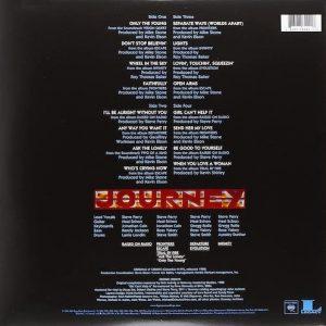 Carátula Vinilo Journey Greatest Hits 2 LP UPC 0886977844218