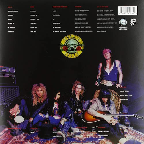 Carátula Posterior Guns-N-Roses-Appetite-For-Destruction.