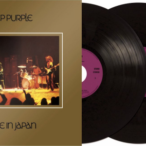 Portada Doble Vinilo Deep Purple - Made In Japan.