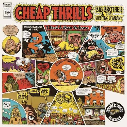 Big Brother & The Holding Company Vinilo Cheap Thrills 886979782419