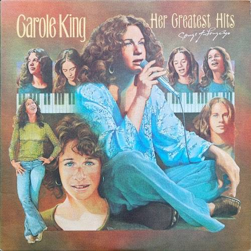 Carole King Vinilo Her Greatest Hits Songs Of Long Ago 886973641910