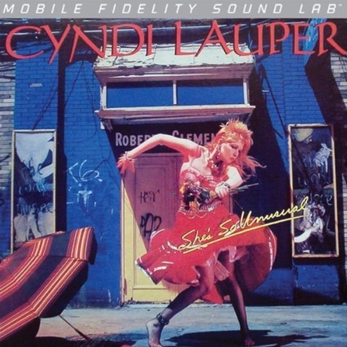 Cyndi Lauper Vinilo MOFI She's So Unusual 0821797100274