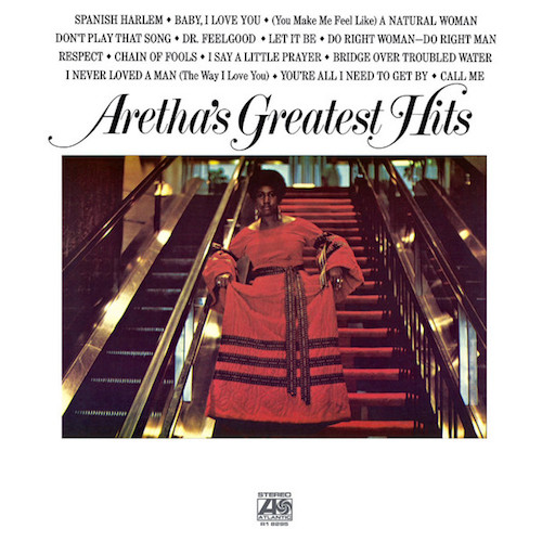 Aretha Franklin Vinilo Aretha's Greatest Hits 081227943516