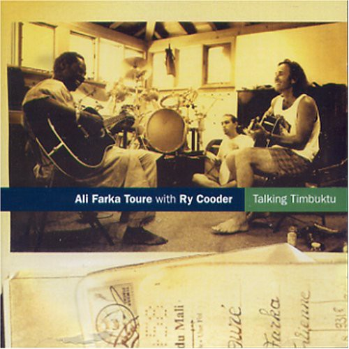 Ali Farka Toure With Ry Cooder Vinilo Talking Timbuktu 5060091556546