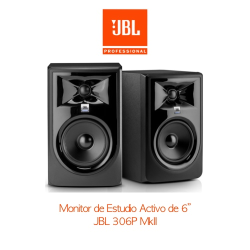 Monitor-jbl-306p-mkii