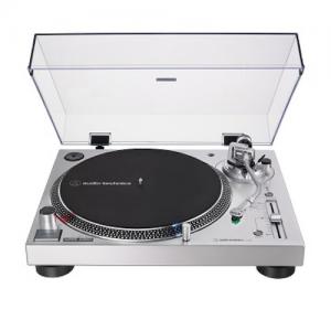 Tornamesa Audio Technica Plateada Silver Disponible
