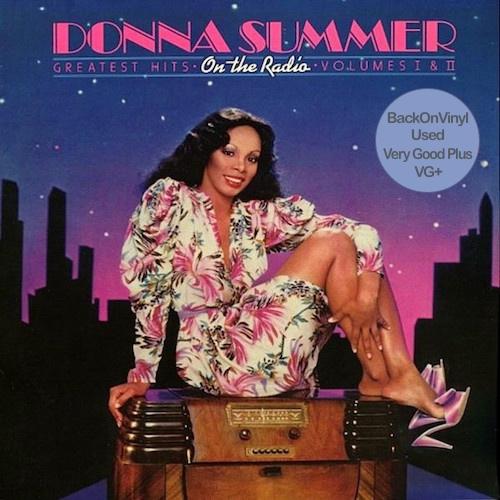 Doble Vinilo Donna Summer - On the Radio