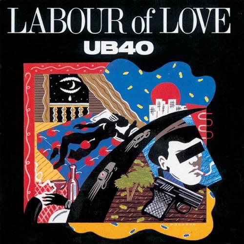 LP UB40 Vinilo Labour Of Love