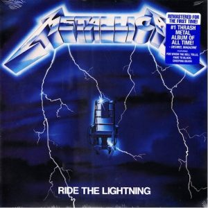 Metallica Vinilo Ride The Lightning 0858978005059