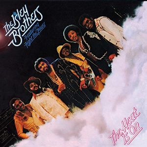 Portada LP The Isley Brothers - The Heat Is On
