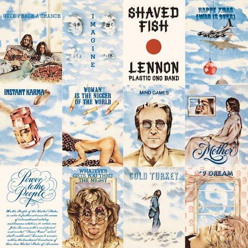 John Lennon / Plastic Ono Band LP Vinyl Shaved Fish UPC 600753511121
