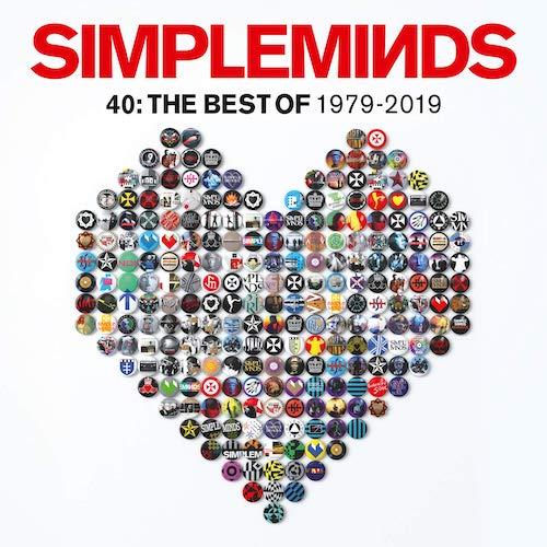 Carátula Vinilo Simple Minds 40: The Best Of 1979 - 2019 UPC 0602577998881
