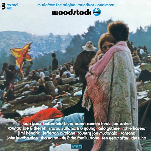 Carátula Woodstock - Music From The Original Soundtrack And More (3LP)