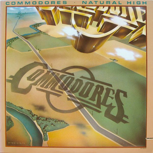 Vinilo Usado Commodores ‎– Natural High