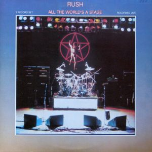 Doble Vinilo Rush ‎– All The World's A Stage