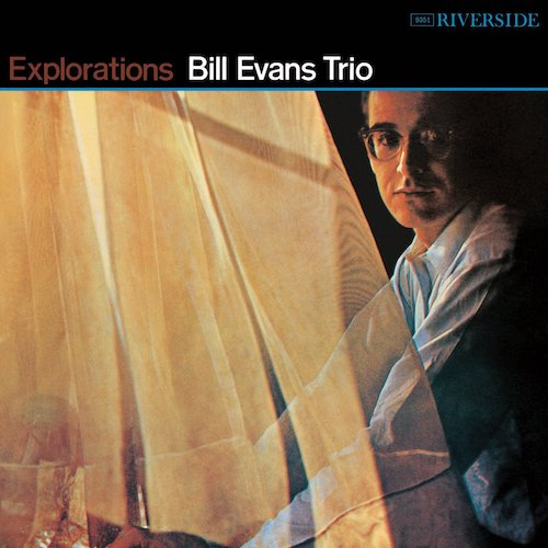 Portada Vinilo Jazz Bill Evans Trio - Explorations - Riverside Records