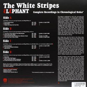 Contratapa The White Stripes