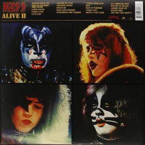 Vinilo-Kiss-Alive-II Contra-Portada