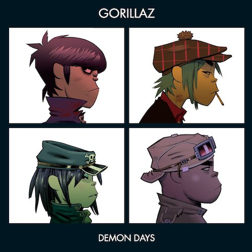 Vinilo Gorillaz – Demon Days