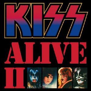 Carátula Vinilo Kiss Alive II