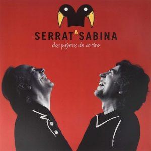 Portada Vinilo Serrat* & Sabina* – Dos Pájaros De Un Tiro