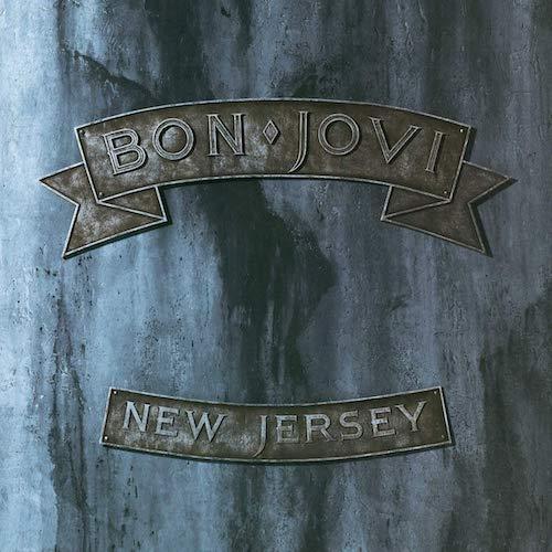 Carátula Vinilo Bon Jovi New Jersey