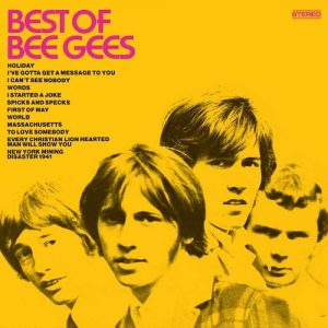 Portada Vinilo Bee Gees ‎– Best Of Bee Gees