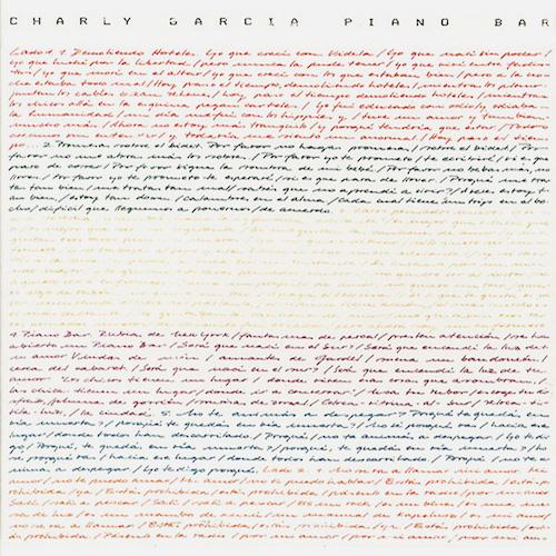 Caratula Vinilo Piano Bar - Charly Garcia