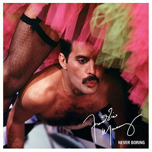 Carátula VInilo Freddie Mercury – Never Boring