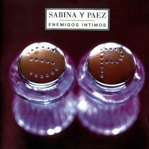 Carátula Vinilo Sabina y Páez – Enemigos Íntimos