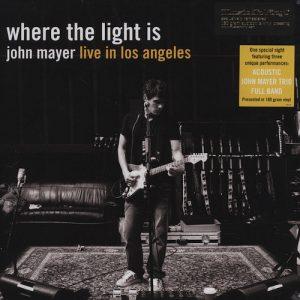 Carátula Box Set John Mayer – Where The Light Is: John Mayer Live In Los Angeles