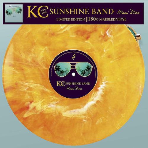 Carátula Vinilo KC And The Sunshine Band – Miami Disco