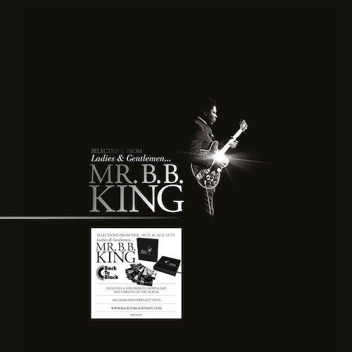 Portada Doble Vinilo B.B. King