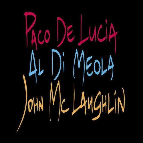 Portada Vinilo Paco De Lucía, Al Di Meola, John McLaughlin – The Guitar Trio