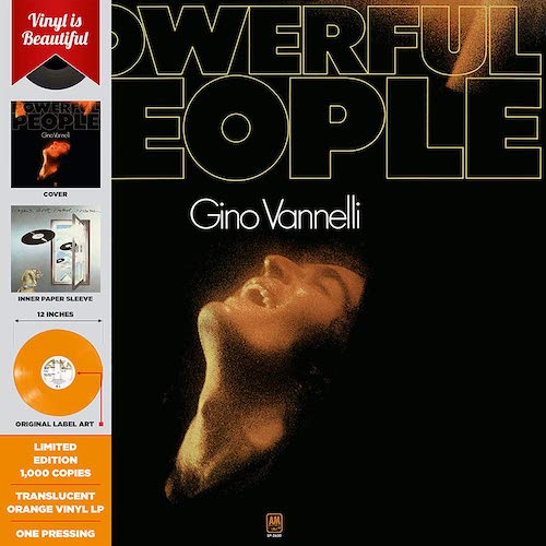 Portada Vinilo Gino Vanelli Powerful People